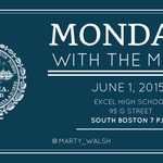 Join me for Mondays with the Mayor, a series of town hall meetings where Ill answers constituents questions. http://t.co/o5v6i8kUkg