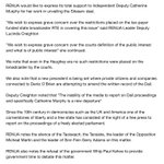 """Renua statement from @LCreighton on @CathMurphyTD and Denis OBrien says a """"chilling silence"""" is descending. http://t.co/NhG6BbFsTl"""