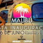 ABRIMOS MALIBU ! INAUGURACIÓN 6 de JUNIO ! Exclusivo +21 #AmbienteExclusivo RT si estas ansioso/a ! http://t.co/ShIuwobLr7