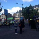Female cyclist dies after being hit by lorry during day of horror on Londons roads http://t.co/Jp8Jn26SC2 http://t.co/XiHI9nT1TI