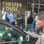 Thief drugged by his GF n left in the car theyd stolen together earlier on this morning #F2 #ChesterHouse #Nairobi http://t.co/YPfeOZLIaw
