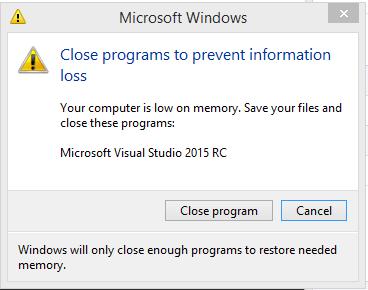 Low memory .. Need to download more ram ! http://t.co/jckQLPZjnN http://t.co/RBUPcrSkAh