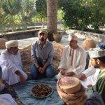 # زيارة الشقيري للسلطنة لسببين: 1_ الرستاق: تربية النحل ( لموضوع الفرق بين تربية النحل في عمان وتربيته في أمريكا ). http://t.co/sDKvHJwHhw