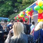 Celebrating #AfricaDay2015 in Belgrade #volimbeograd http://t.co/0euh0sCE3T