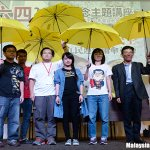 Last night: Joshua Wong & Long Hair were kept out of Malaysia, but their symbolism found its way in. @malaysiakini http://t.co/woDBreAWan