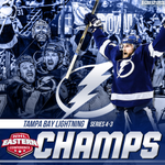 The Lightning strike their way to 2nd Stanley Cup Final appearance in team history. http://t.co/hkfNEDW64e