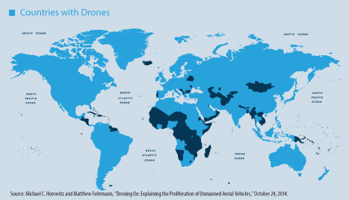 87 countries currently possess #drones. An upcoming CNAS report will explore what this means for our future. http://t.co/NBkLldOkBv