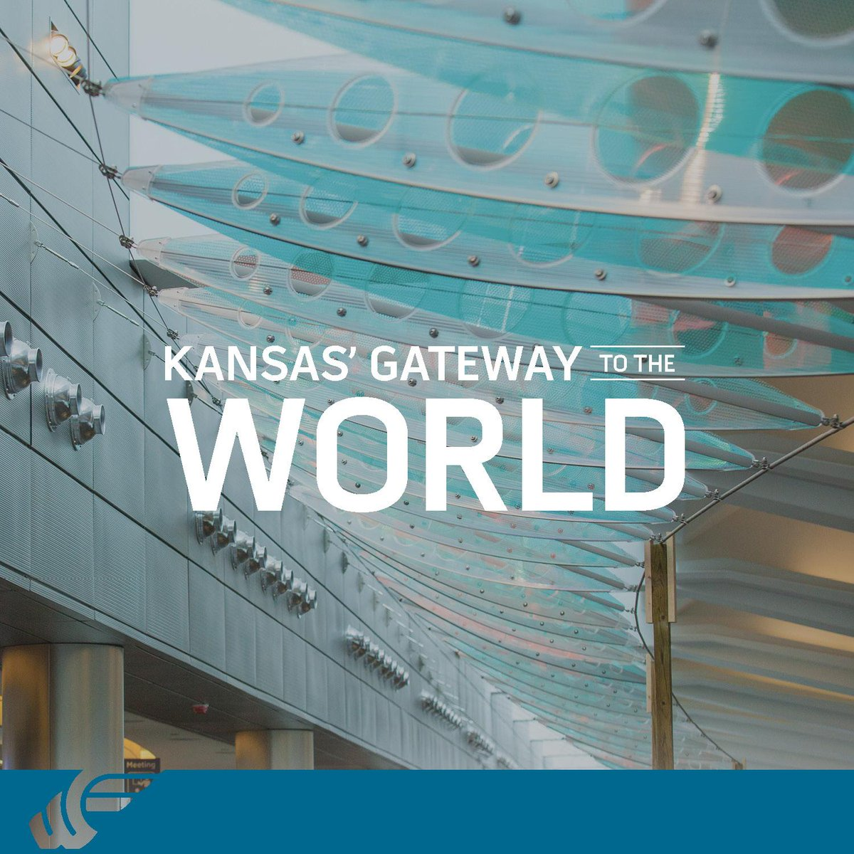 The new terminal is open and its our gateway to the world, and the world's portal to Kansas. #ItChangesToday http://t.co/CUkwJWEMMF