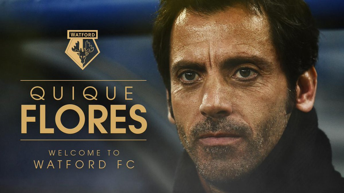 Welcome to #watfordfc, Quique! http://t.co/vHKDxhs00O