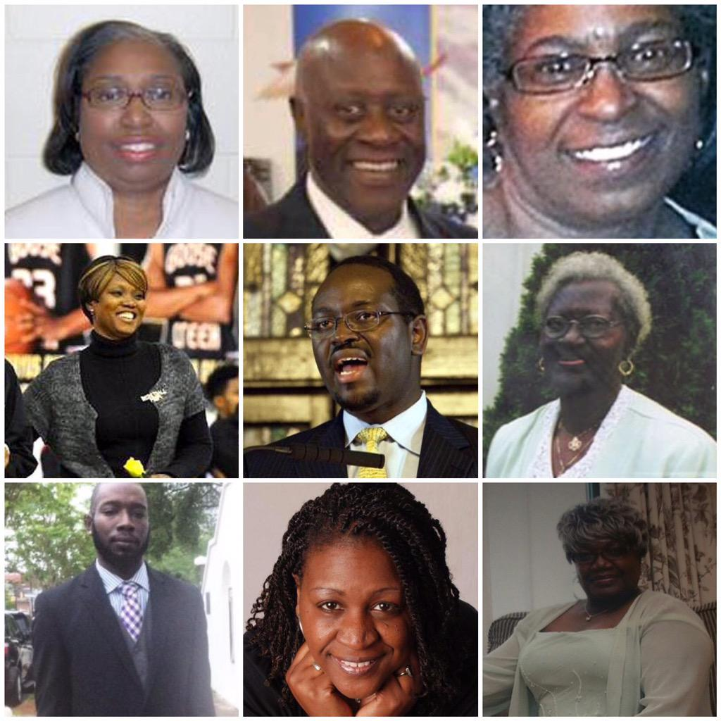 Remembering the lives lost in the #Charlestonshooting... God bless #EmanuelAME