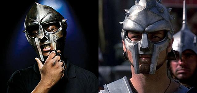 Of course @MFDOOM was in Gladiator? http://t.co/l0e8zk4oYA