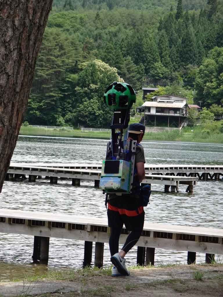 こ、このカメラは・・・!!! 遂になのか?! 木崎湖擬似散歩が出来る時までもうしばらくお待ちくださいねー! http://t.co/PvjXCEoz7q