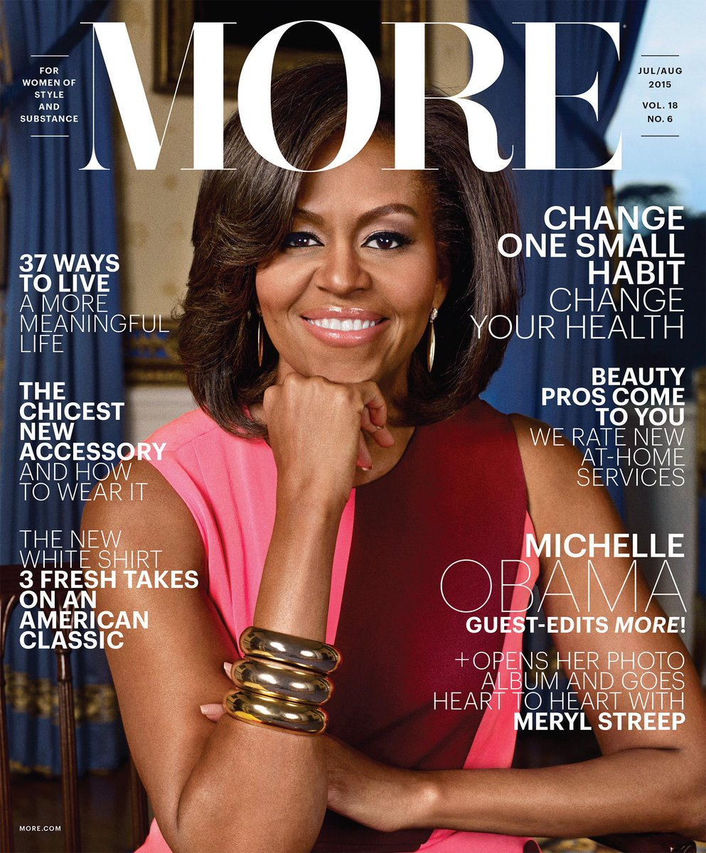 Surprise! @FLOTUS is guest-editing our July/August #MoreImpact issue. Here's a sneak peek: http://t.co/7o9gndWgQS http://t.co/ZbGPj6XVal