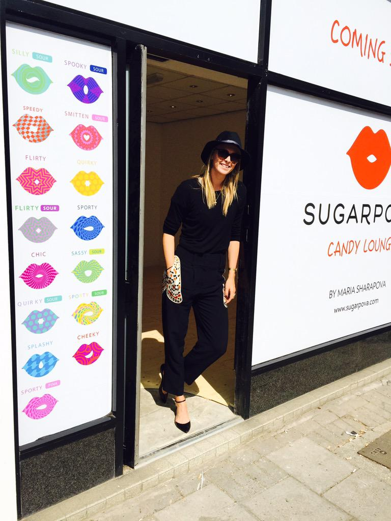 It's coming this Friday! #Sugarpova #CandyLounge 94 High Street Wimbledon Village http://t.co/s0POgx0PDT