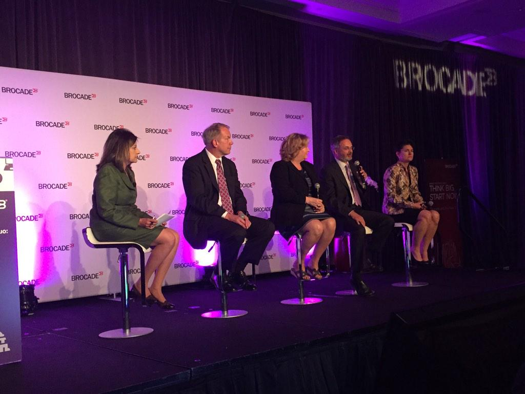 Top CIOs from @DeptofDefense, @HHSGov, @USDOT and @DHSgov rocking the stage at #brocadefed http://t.co/wrlmk6ruvr