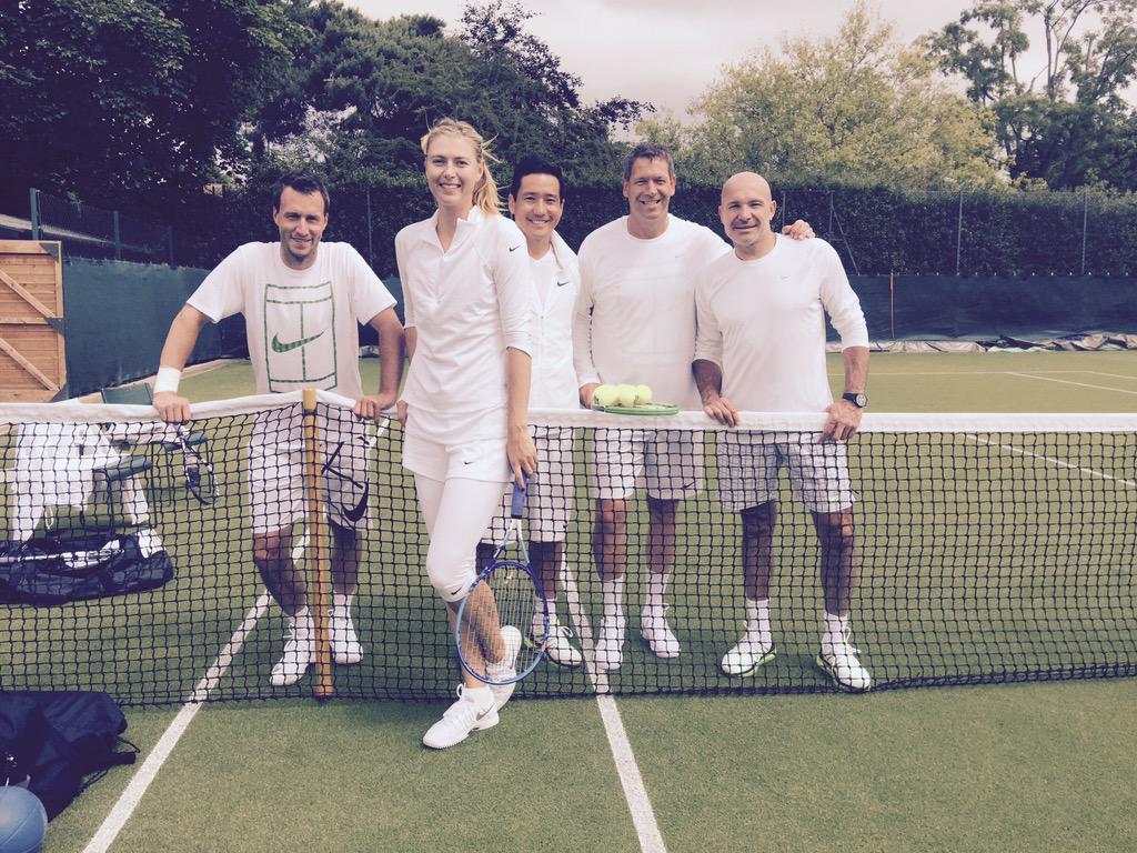 Fresh Wimbledon Whites ???? http://t.co/MpkxEpRTKI