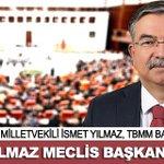 AK Parti Sivas Milletvekili İsmet Yılmaz, TBMM Başkanı seçildi. http://t.co/f4Ebxtjr1G http://t.co/j6kmBw8POJ