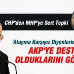 CHPden MHPye Sert Tepki http://t.co/jEKW6tLODt http://t.co/zbnDmfLGgr