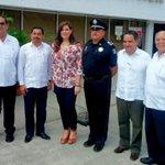"""Un gusto contar con la presencia de @FarideRV,en el inicio de la Jornada Estatal """"México Cívico""""en Campeche @SEGOB_mx http://t.co/CDXDVlyTWr"""
