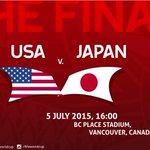 #JPN #USA #Japan #NadeshikoJapan #FIFAWWC2015 #FIFAWWC #Final #Soccer http://t.co/d6wBoF0lOW  http://t.co/F3PRcoAXuC https://t.co/Yv5VSsQ2Et