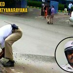 RT @TrafflineDEL: Let's make him famous:- In Bangalore, This conscientious cop who cleared the road Single handedly for smooth traffic. htt…