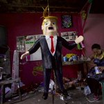 Well, this was inevitable: Donald Trump piñatas in Mexico: http://t.co/XHyTqVHnGe (via @nytimes) http://t.co/voqkKaxQMK