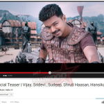 RT @OnlyKollywood: #PuliTeaser hits 1 Million sensational views in less than 20 Hours of its upload! Congrats team. #PULI @SKTStudios