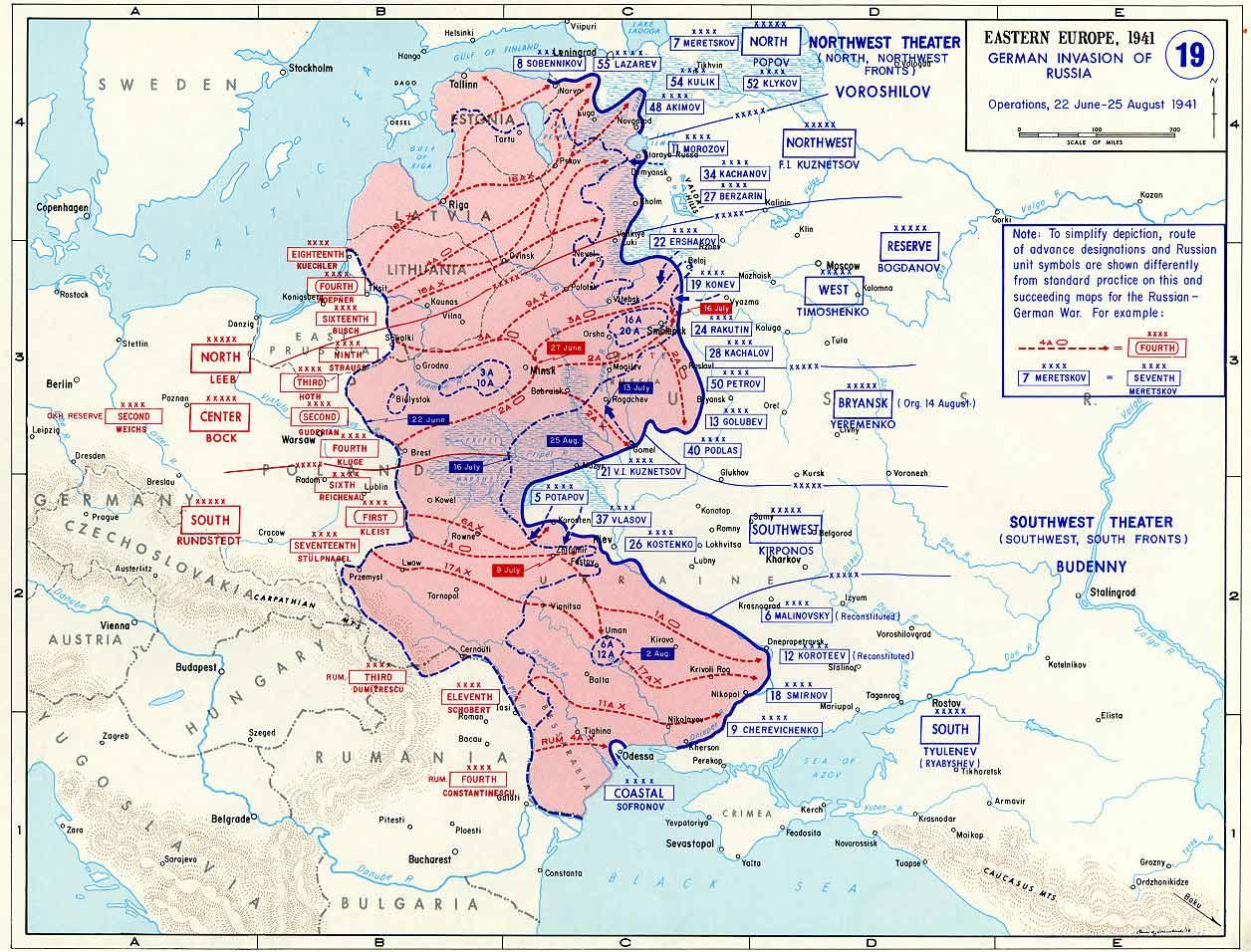 План барбаросса карта схема
