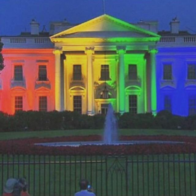 I think they should keep it this way?  White is so 1776! #LoveWins http://t.co/LKI5UHb48p