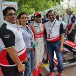 RT @vickychandhok: On the grid with @MahindraRacing @karunchandhok @GoenkaPk @dilbagh_gill @GulPanag
