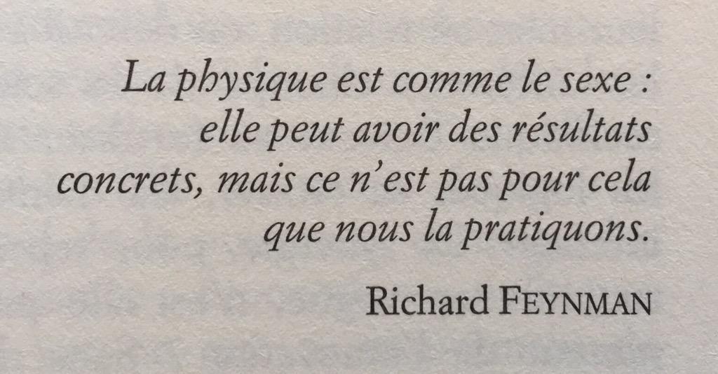 Sacré Feynman ! #physique #sexe http://t.co/J8iY70xhhO