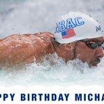 Happy Birthday @MichaelPhelps!