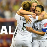 Huge Congrats to @ussoccer_wnt!! #USWNT beat Germany to advance to the @FIFAWWC Final! #SheBelieves http://t.co/CARGlc4TJp #USA