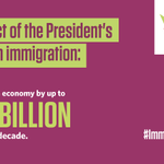 Taking #ImmigrationAction is the right thing to do.