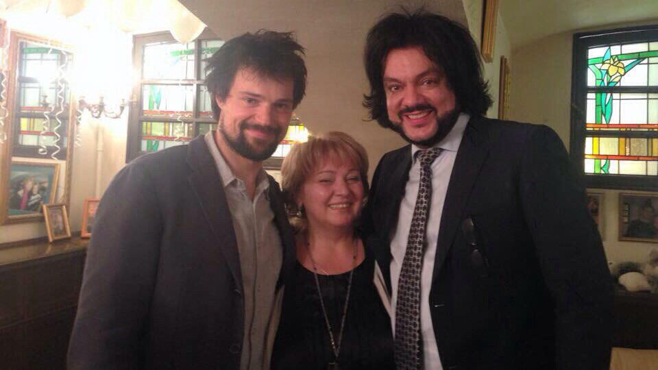 KozlovskyBR : Danila, his mom, Lev Dodin and @fkirkorov celebrated ...