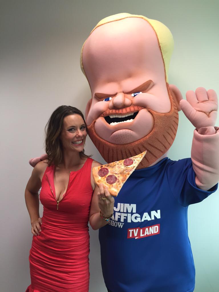 Watch my sexy husband @JimGaffigan and me tomorrow night- #TheJim GaffiganShow!Plug it into your DVR, it's on Tvland! http://t.co/6N3YCNp1dz