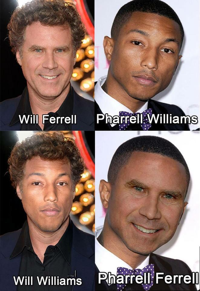 Pharrell Ferrell is my everything. http://t.co/pC01OBmYGA