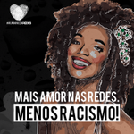 Racismo é crime! A Juventude do PT está na luta no combate ao racismo. #SomosTodosMajuCoutinho http://t.co/CXSyIDmty6