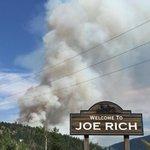 Smoke filling the sky from Joe Rich Fire. #CBC @cbckelowna http://t.co/5HIsGxneN3