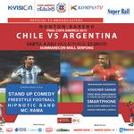 Nonton Bareng FINAL COPA AMERICA 2015 CHILE VS ARGENTINA Sabtu, 4 juli pukul 22:00 WIB di @SMS_Serpong http://t.co/F473hdHRe8