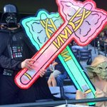 The force was strong at The Ted tonight! Final: #Braves 2, Phillies 1. http://t.co/BvOjsxh4Ae