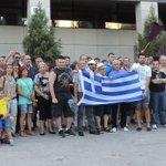 Getafe en solidaridad con #Grecia NO a los recortes, SI a la democracia #OXI #Greferendum http://t.co/A6OSZcM4dV
