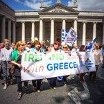 Solidarity with Greece #OXI @DublinSinnFein @tsipras_eu #IrelandstandswithGreece http://t.co/MrcWfXHuKt