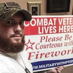 Be mindful of any veterans nearby as you set off fireworks. The blasts could trigger PTSD. http://t.co/qxoNaGoQMn http://t.co/mbzmHQfZFi