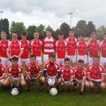 The winning Cork red u15 football team in the Humphrey Kelleher tournament in Milstreet yesterday.@OfficialCorkGAA http://t.co/Y0PRfzFD3g