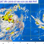 .@dost_pagasa (5 AM, July 6): Tropical Storm #EgayPH has remained almost stationary over Luzon sea. http://t.co/y9nc6l5Yfm