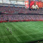 Here is a look from @TXStateSoccer Head Coach Kat Conners seat in the 2nd Half. #FIFAWWCFinal http://t.co/xphsjmQWsi
