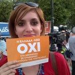 #Galería | Grecia celebra triunfo del NO | Más imágenes aquí: http://t.co/SNazo7pFrV #GreciaDijoNo http://t.co/qMu4BHdgVM
