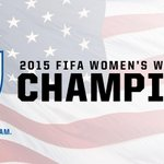 #Wild Tweets: #IBelieveThatWeJustWon! Congratulations @ussoccer_wnt! #USA http://t.co/3CN2GleXnN http://t.co/extpPZbM2O