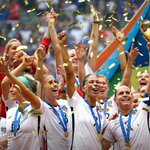 The United States became the first team to win the Womens World Cup three times http://t.co/QN1AT4Hmp4 http://t.co/rBQKADQ0e2